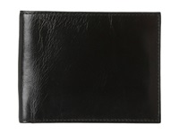 Bosca Old Leather Classic 8 Pocket Deluxe Executive Wallet Black Wallet Handbags