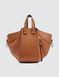 Loewe Hammock Small Bag Brown
