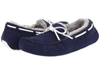 Ugg Olsen Navy Suede Men's Slip On Shoes Blue