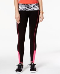 Material Girl Active Juniors' Printed Leggings Only At Macy's Party Animal