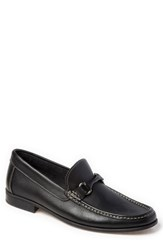 Sandro Moscoloni Tyler Bit Loafer Black Leather