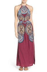 Red Carter Women's Cover Up Maxi Dress