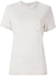 Ymc Chest Pocket T Shirt Nude And Neutrals
