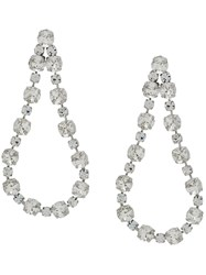 Ca And Lou Victoria Embellished Earrings Metallic