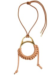 Loewe Braided Leather Necklace