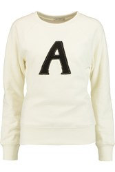 Ag Jeans Alexa Chung Scarlet Cotton Sweater White