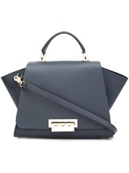 Zac Posen 'Eartha Iconic Top Handle' Tote Blue