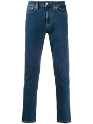 Calvin Klein Jeans Low Rise Skinny Blue