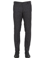Trussardi Prince Of Wales Alpaca Blend Pants