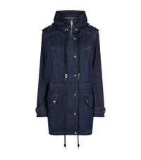 Juicy Couture Denim Parka Coat Female