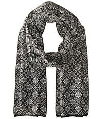 Dale Of Norway Sonja Scarf Black Off White Scarves