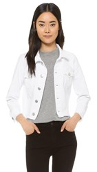 True Religion Dari Boxy Shirt Jacket Optic White
