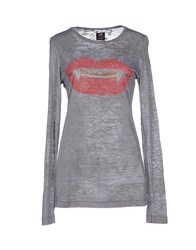 E.Vil Topwear T Shirts Women Grey