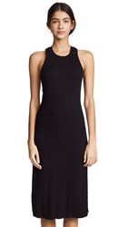 Cotton Citizen The Melbourne Tank Dress Jet Black