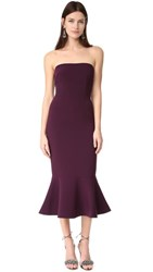 Cinq A Sept Luna Dress Plum