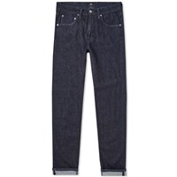 Edwin Ed 55 Relaxed Tapered Jean Blue