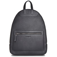 Maison Martin Margiela Maison Margiela 11 Leather Backpack Black