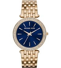 Michael Kors Mk3406 Darci Stainless Steel Watch Blue