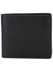 A.P.C. Billfold Wallet Men Leather One Size Black
