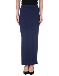 Only Long Skirts Dark Blue