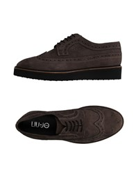 Liu Jo Man Footwear Lace Up Shoes