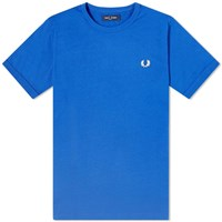 Fred Perry Authentic Ringer Tee Blue