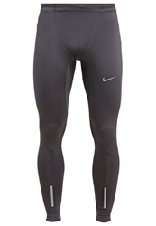 Nike Performance Tech Tights Anthracite Team Orange Reflective Silver