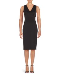 Jessica Simpson Sleeveless Embellished Sheath Dress