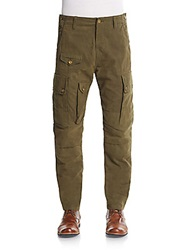 Prps Straight Leg Cargo Pants Olive