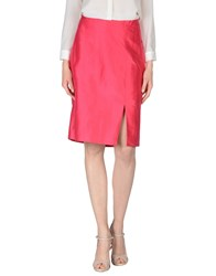 Marella Skirts Knee Length Skirts Women Fuchsia