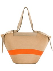 Elena Ghisellini Beach Tote Bag Neutrals