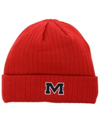 Top Of The World Mississippi Rebels Campus Cuff Knit Hat Red