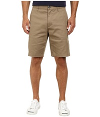 Rvca The Week End Stretch Shorts Dark Khaki Men's Shorts