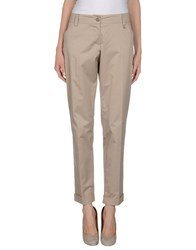 X's Milano Trousers Casual Trousers Women Beige