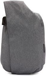 Cote And Ciel Grey Canvas Isar Backpack