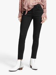 And Or Avalon Ankle Grazer Skinny Jeans Stay Black