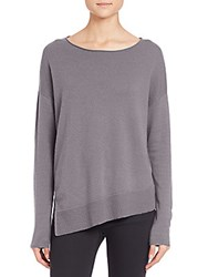 Joie Walda Wool And Cashmere Sweater Steel