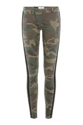 Faith Connexion Camouflage Print Skinny Pants Multicolor
