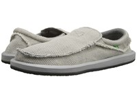 Sanuk Chiba Light Grey Men's Slip On Shoes Gray