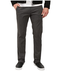 Volcom Frickin Modern Stretch Chino Charcoal Heather Casual Pants Gray
