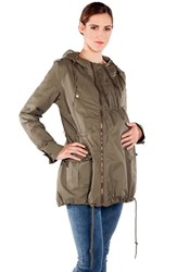 Women's Modern Eternity Convertible Military Maternity Jacket