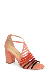 Women's By Zendaya Soda Block Heel Sandal Peach