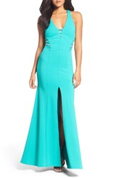 Sequin Hearts Women's Mermaid Gown