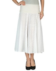 Ean 13 3 4 Length Skirts White