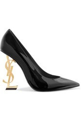Saint Laurent Opyum Patent Leather Pumps Black