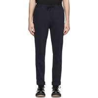 Officine Generale Navy Garment Dyed Phil Trousers