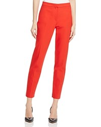 Boss Tidali Ankle Pants Bright Red