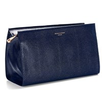 Aspinal Of London Cosmetic Case Navy
