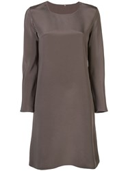 Peter Cohen Straight Fit Dress Brown