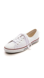 Converse Fancy Leather Sneakers White